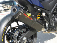 Graves Motorsports Yamaha R3 Full Exhaust System