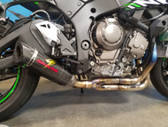 Graves Motorsports Kawasaki WORKS ZX10R LINK LOW Mount Full Exhaust System