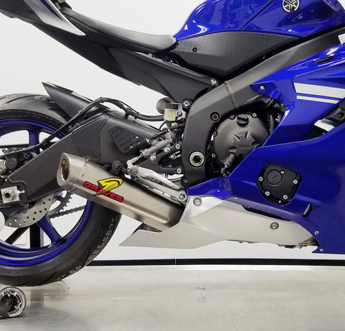 Yamaha R6 Full Titanium WORKS 7 Exhaust