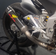 Graves Motorsports Aprilia RSV4 Cat Eliminator Exhaust
