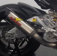 Graves Motorsports Aprilia RSV4 Cat Eliminator Exhaust Titanium