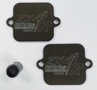 Kawasaki Ninja ZX6-R  Smog Block Off Plates
