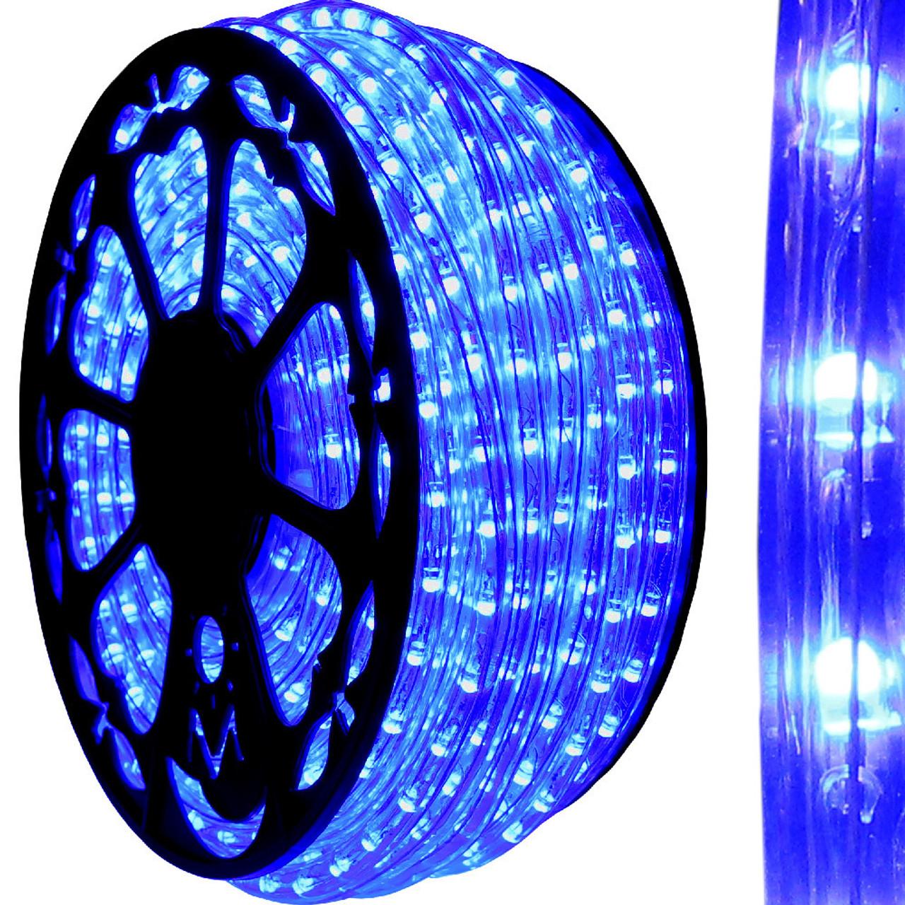 led and incandescent rope lights aqlighting. Black Bedroom Furniture Sets. Home Design Ideas