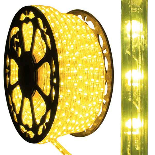 120V Dimmable LED Yellow Type 513 Rope Light - 150ft - 513PRO-SERIES