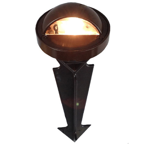 In Ground Step Light PGP425S (shown in bronze with LED warm white)