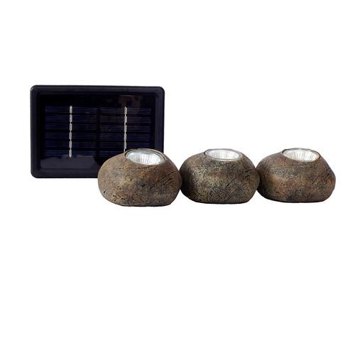 LED 3 Rock Solar Light Kit (PLEG-ROCK-SKG) Kit