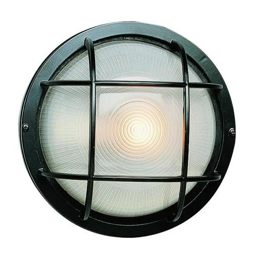 1 Light Outdoor Bulkhead 41505BK Black