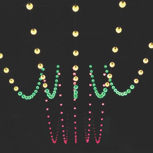 12V Globe LED RGB Show Light Strings