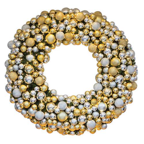 6' Elite Holiday Designer Wreath