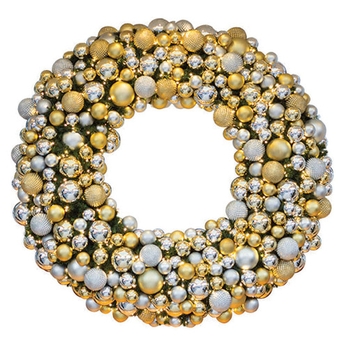 10' Elite Holiday Designer Wreath