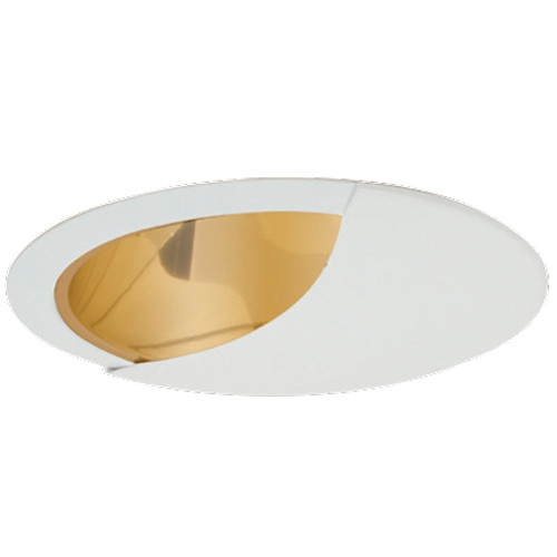 Shown with Gold Reflector & White Trim Ring