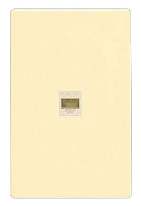 Single Phone Jack Wall Plate