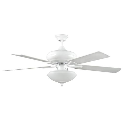 "52"" Valore White Ceiling Fan"