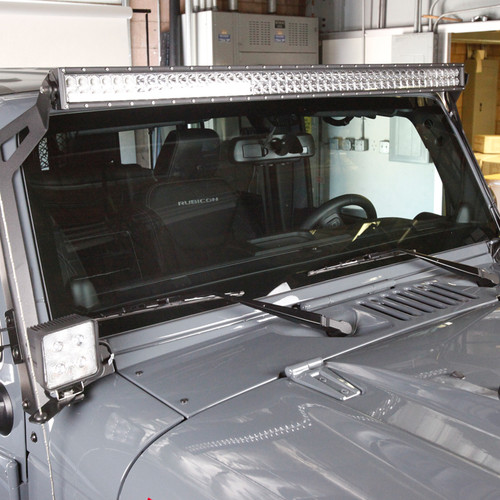"Jeep 50"" LED Light Bar 288W Kit- Off Road LED Light Bar - Includes Mounting Bracket"