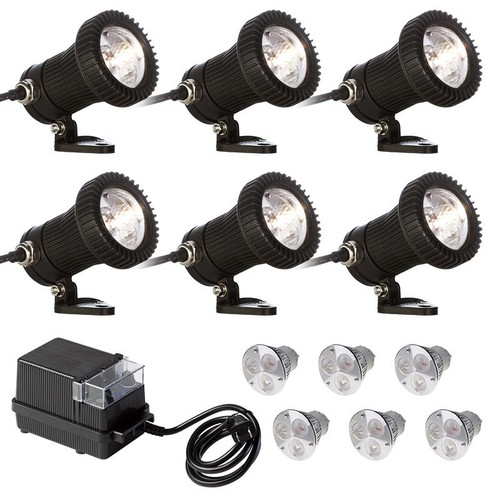 6 Composite Spotlight LED Pond Kit 6-KIT-LED002