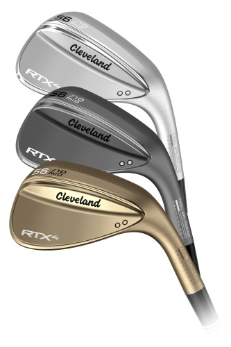 Cleveland RTX 4 Wedge is availble in 3 finishes