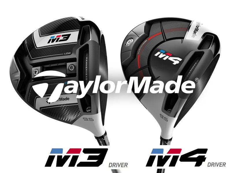 Taylormade M3 and M4 Driver