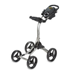 BagBoy Quad XL Push Cart  | Silver/Black