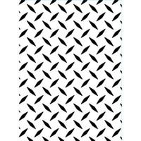 Darice A2 Embossing Folder - Diamond Plate
