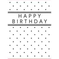 Darice A2 Embossing Folder - Happy Birthday