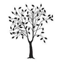 Darice A2 Embossing Folder - Leafing Tree