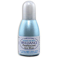 Brilliance Re-Inker - Pearlescent Ice Blue