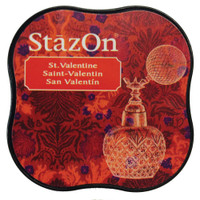 StazOn Permanent Mini Ink Pad - St. Valentine