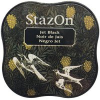 StazOn Permanent Mini Ink Pad - Jet Black