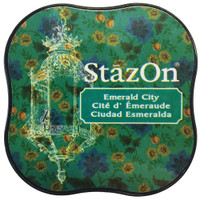 StazOn Permanent Mini Ink Pad - Emerald City