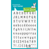 Lawn Fawn Stamps - Claire's ABCs