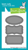 Lawn Fawn Dies - Stitched Labels