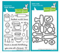 Lawn Fawn Stamps & Dies Bundle - Baked With Love