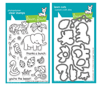 Lawn Fawn Stamps & Dies Bundle - Critters In The Jungle