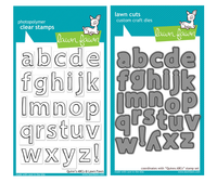 Lawn Fawn Stamps & Dies Bundle - Quinn's lowercase ABCs