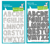 Lawn Fawn Stamps & Dies Bundle - Quinn's Capital ABCs