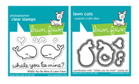 Lawn Fawn Stamps & Dies Bundle - Whale You Be Mine