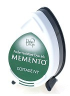 Memento Dew Drop Ink Pad - Cottage Ivy