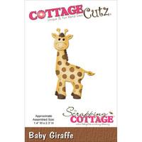 CottageCutz Die - Baby Giraffe