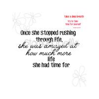 Stamping Bella - Stop Rushing