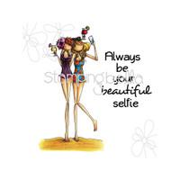Stamping Bella - Samantha & Sierra Take A Selfie