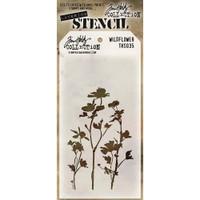 Tim Holtz Layered Stencil - Wildflower