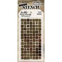 Tim Holtz Layered Stencil - Tiles