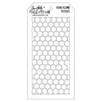 Tim Holtz Layered Stencil - Honeycomb