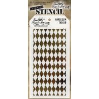 Tim Holtz Layered Stencil - Harlequin