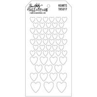 Tim Holtz Layered Stencil - Hearts