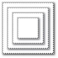 Memory Box Die - Postage Square Layers