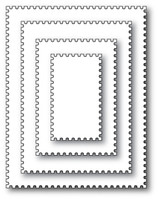 Memory Box Die - Postage Rectangle Layers