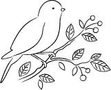 Memory Box Stamps - Petey Bird