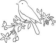 Memory Box Stamps - Gwendolyn Bird