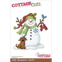 CottageCutz Die - Jolly Snowman
